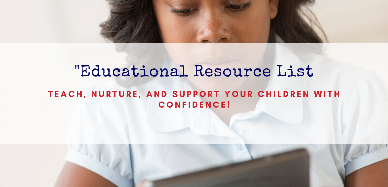 Educational Resource List