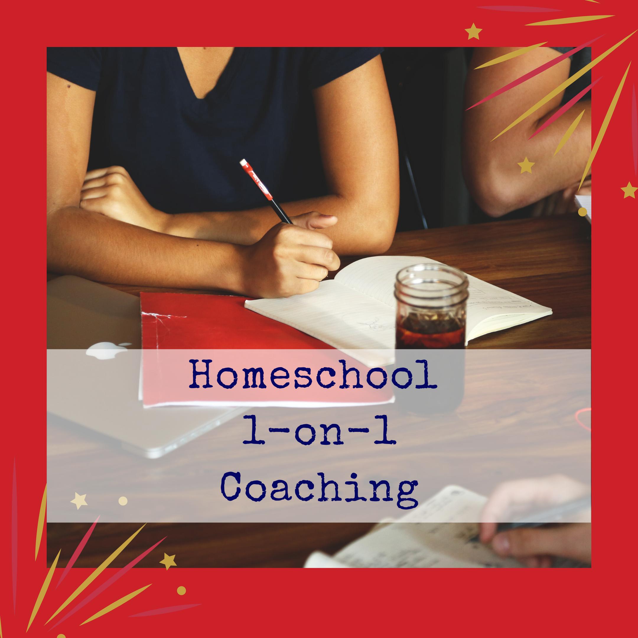 Homeschool 1-on-1 Coaching
